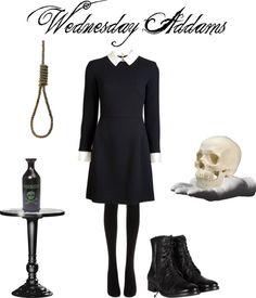 """Wednesday Addams"" by jodilynnz on Polyvore"