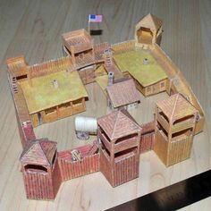 A papercraft blog featuring sci-fi, geek, and pop culture themed paper models. Paper Pop, 3d Paper, Paper Crafts, Small Soldiers, Toy Soldiers, Chateau Fort Jouet, Dungeons And Dragons, Wargaming Terrain, 40k Terrain