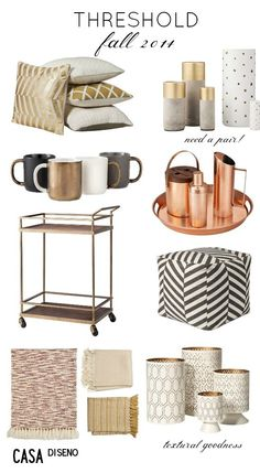 What's New: Threshold #Fall 2014 Collection @target #decorating