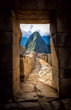 MachuPicchu. Huayna Picchu