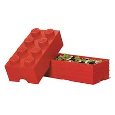 Attractive LEGO Red Brick Storage Container   Room Copenhagen   LEGO   Carry Cases At  Entertainment Earth