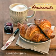 supergolden bakes: Quick and easy croissants from scratch