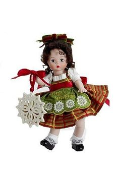 Madame Alexander Dolls Classic Trimmings with Lenox Porcelain Wendy,8, Holiday Collection Limited Edition - 750 Piece by Madame Alexander, http://www.amazon.com/dp/B00171V9CE/ref=cm_sw_r_pi_dp_TnMFrb05C3ZDX