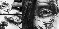 Annah #4 by PEZ ARTWORK, via Behance