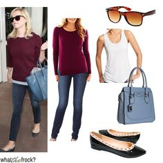 What the Frock? - Affordable Fashion Tips, Celebrity Looks for Less: Reese Witherspoon