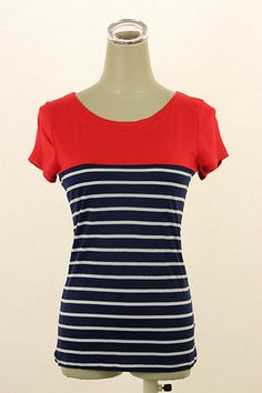 Perfect for Summer and only $16.50! (Comes in 4 colors!) http://www.modestpop.com/products/summer-striped-tee