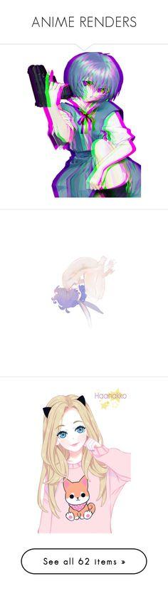 """ANIME RENDERS"" by soft-grunge7292 ❤ liked on Polyvore featuring anime, manga, art, filler, black butler, render, anime guys, uta no prince sama, utapri and creative stuff"