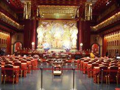 inside temple - Singapore