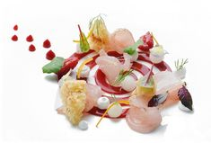 Creative Food Art, Basic Kitchen, Yogurt Sauce, Food Trends, Ceviche, Antipasto, Food 52, Food Presentation, Fine Dining