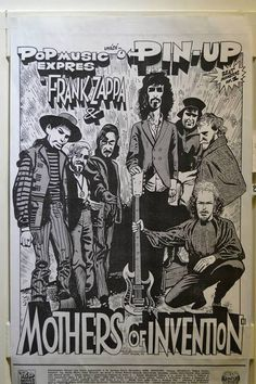FRANK ZAPPA & THE MOTHERS POSTER