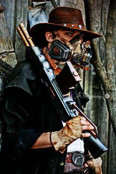 steampunked cowboy!!! Western Steampunk by ~GrimHigurashi on deviantART