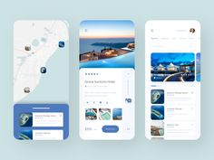 Travel and Booking App designed by Alexander L. Connect with them on Dribbble; Ios 7 Design, Flat Web Design, Web Layout, Design Layouts, Website Layout, Driver App, Mobile Ui Patterns, Mobile App Ui, Travel Humor