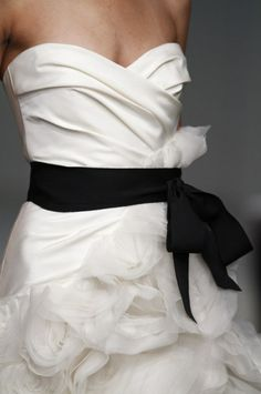 Vera Wang - that's it, I'm getting married again.