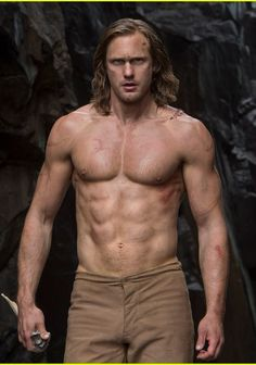 Alexander Skarsgard in Legend Of Tarzan July 2016. Gorgeous!