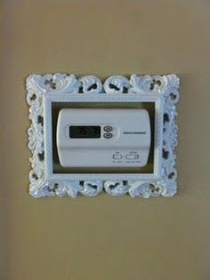 Easy thermostat frame