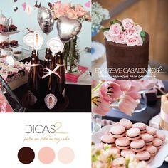 Wedding, bridal party, chá de panela, chá de cozinha, chá de lingerie, Color Palette, Paleta de Cores | Em Breve Casadinhos - Blog de Casamento | Florianópolis | SC