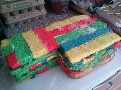 Lego taart.