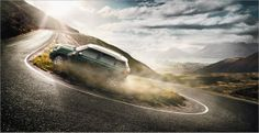 Mini Cooper | Martijn Oort | CGI by gloss postproduction , via Behance