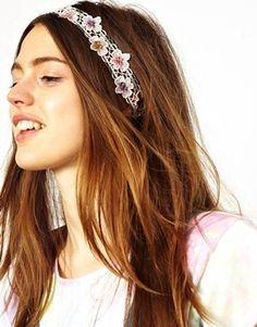 Enlarge Limited Edition Dot Daisy Hairband