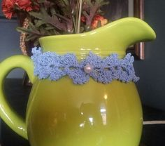 Crochet lace braid picots choker by HomeintheValley on Etsy