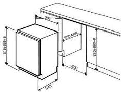 How a larder fridge inserts