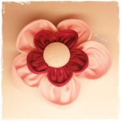 Stoffblume | Blume von BIGROL auf DaWanda.com