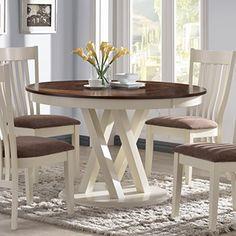 Coaster Home Furnishings 104571 Dining Table, Rustic Pecan and Buttermilk Coaster Home Furnishings http://www.amazon.com/dp/B00S0R4J5M/ref=cm_sw_r_pi_dp_OZMCvb16N0HWP