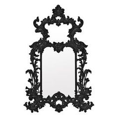 Buy Eichholtz Leighton Mirror Black online with Houseology Price Promise. Full Eichholtz collection with UK & International shipping. Black Wall Mirror, Ornate Mirror, Round Wall Mirror, Wall Mounted Mirror, Mirror Door, Framed Mirrors, Framed Wall, Goth Home, Contemporary Wall Mirrors