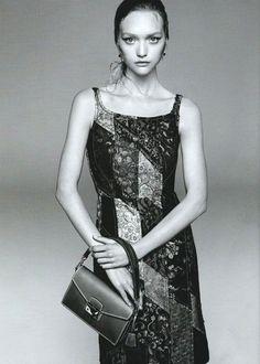 2009c4310369 Prada Spring Summer 2015 campaign featuring Gemma Ward