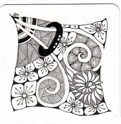 376 Best Zentangle Flowers Plants Trees Images Doodle Art