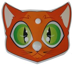 Children's Cat Faced Coat Rack