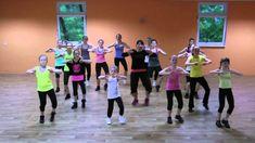 Perníková Kopretina - Společná choreografie 1 Relaxer, Zumba, Jennifer Lopez, Sons, Basketball Court, Education, Music, Youtube, Activities