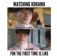After you are inside the K-Drama World theres no escaping 😂😂😂 Korean Drama Funny, Korean Drama Quotes, Kdrama Memes, Funny Kpop Memes, Drama Fever, Drama Drama, Korean Actors, Korean Dramas, And So It Begins