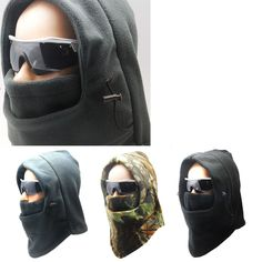 Ski, Snowboard, hunting, Bicycle, Camping Winter Neck WarmerWarm Sport Face Mask #TC