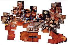 David Hockney The Scrabble Game