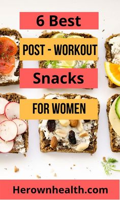7 Best Post-workout Snacks for Women - Healthy Recipes - 6 best post workout snacks for women Best Picture For snack recipes For Your Taste You are lookin - Post Workout Protein, Post Workout Smoothie, Post Workout Snacks, Best Post Workout Food, Workout Fitness, Healthy Snacks, Healthy Eating, Healthy Recipes, Post Workout Breakfast
