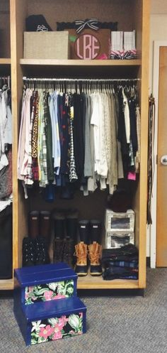 Remember, you only had 3 drawers and a small closet in college, and you did fine.