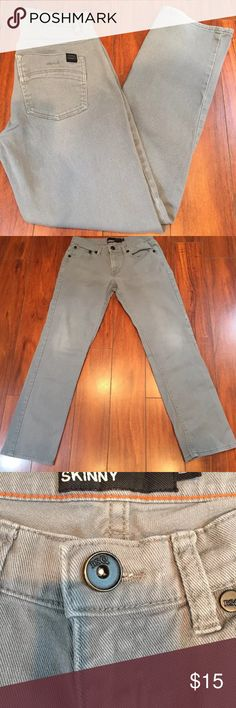 """RSQ London Boys Skinny Jean Gently pre-owned condition. Some pilling inside the pockets. Rise approximately 8 1/2"""", inseam approximately 28 1/2"""" 98% cotton, 2% spandex. RSQ Bottoms Jeans"""