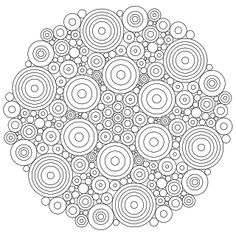 Don't Eat the Paste: Circles Mandala