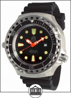 Riesige 52mm- Reloj Automático de buzo con con válvula de helium y cristal de zafiro T0255 de  ✿ Relojes para hombre - (Gama media/alta) ✿