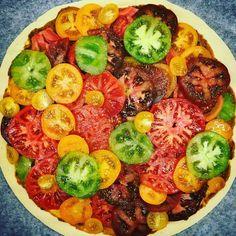 La tarte aux tomates multicolores, ça vous tente ? Bientôt dans les rayons d'une enseigne bien connue ;) Bon app'