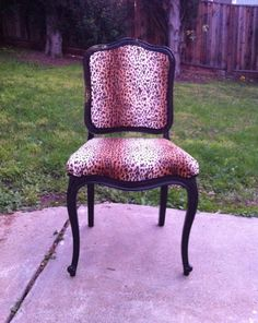 Vintage 1960s French Provincial Replica Chair in by SECONDREVIVAL, $225.00