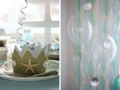 Mermaid Party Birthday Party Ideas | Photo 3 of 12 | Catch My Party