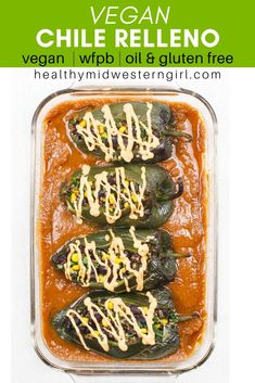 A light and healthy chile relleno recipe with nutritious beans and quinoa, loads of veggies, and a drizzle of vegan cheddar cheese sauce. recipe Vegan Chile Relleno - Whole Food Plant-Based Vegan Mexican Recipes, Vegetarian Recipes, Healthy Recipes, Keto Recipes, Vegetarian Chili Relleno Recipe, Casseroles Healthy, Vegan Meals, Rellenos Recipe, Vegan Blog