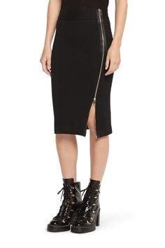 Shop the Zip Track Skirt