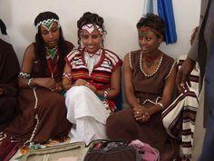 Oromo  young women and culture Shjamarraa Oromoo, Oromia