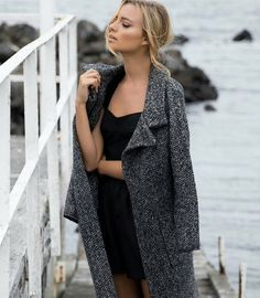 Cosy up in the Maya Knit Coat  Super soft & warm this on trend style for Winter goes with everything!  Shop in store or online  http://ift.tt/1GqdATg