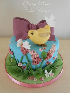 """""""I love the spring"""" ~ hand sculpted and totally edible"""