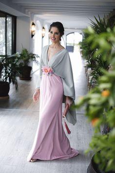 014457387 Look invitada perfecta 2018 vestido largo hermana novia