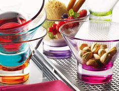 I pinned this from the Bormioli Rocco - Colorful Italian Modern Glassware event at Joss & Main!- If you're looking for the festive partyware, this is the place to start!